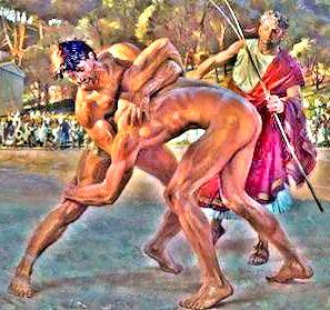 Древние атлеты