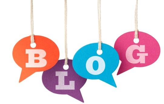 """Красивая надпись """"блог"""""""