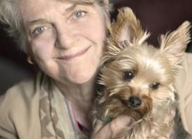 Барбара с собачкой