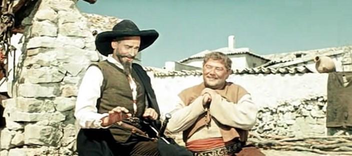 Кадр из фильма «Дон Кихот», 1957 г., режиссер Г. Козинцев