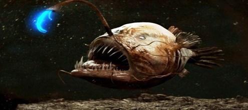 Причудливая рыба